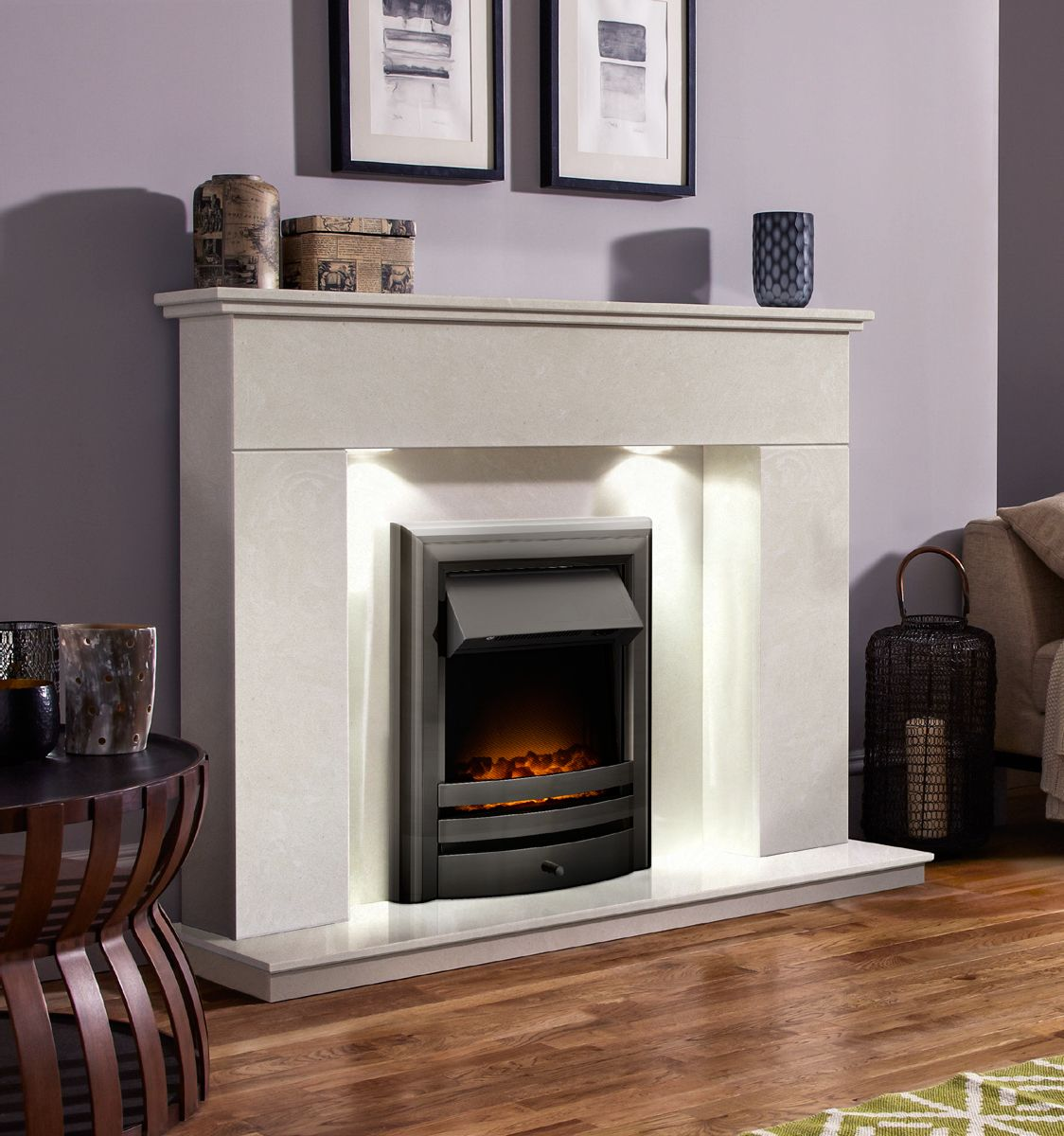 Fire & Fireplace installed from our showroom in Sunderland