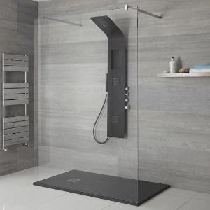 Shower room from our bathroom installers in Sunderland